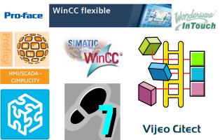 Proface / WinCC / Step7 / RS Logix 5000 / Intouch / Citect / Cimplicity / Unity